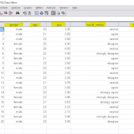 univariate analysis using spss