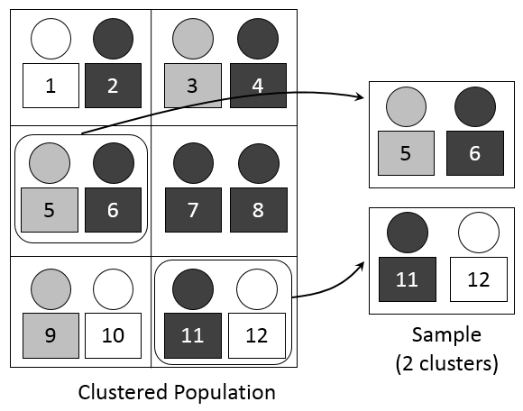 Cluster sampling: Definition, application, advantages and disadvantages
