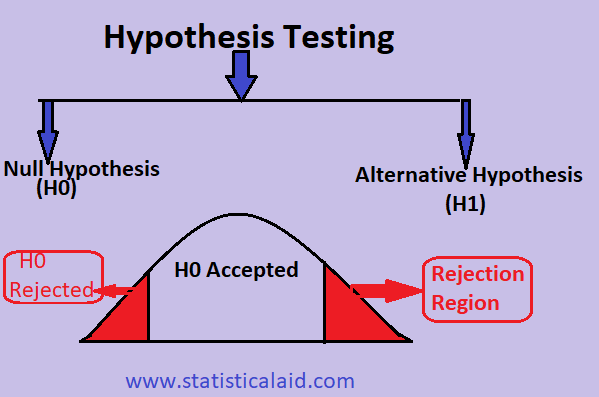 Statistical Hypothesis Testing step by step procedure